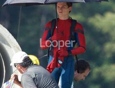 Spider-Man Homecoming behind the scene