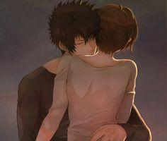 This is what should have happened when akane stayed at the place kogami was staying in, in the movie. Still though I can't help but love them either way~SHIKANE~