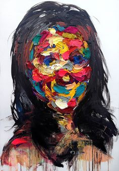 Untitled Oil on Canvas 2013 by KwangHo Shin