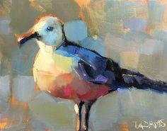 Seagull by Trisha Adams Oil ~ 8 x 10