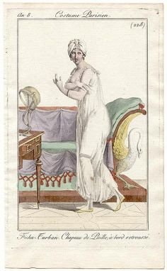 Costume parisien 1808