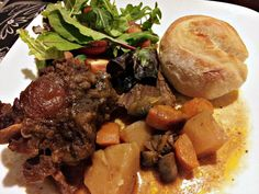 Oxtail slow cooker stew