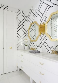 4 tips for pairing tile in the bathroom // Greg Natale // via sarah sherman samuel