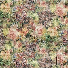 Tim Holtz - Eclectic Elements 2 - Bouquet in Multi
