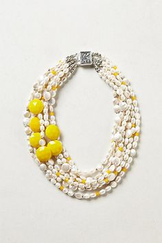Gloriosa Necklace by Elva Fields, available at Anthropologie