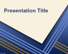 This free PowerPoint template example is a free template for Microsoft PowerPoint 2007 and PowerPoint 2007 that you can use as a background for your presentations or slides in Power Point