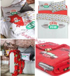 Friends Central Perk Duvet Covers Home, Furniture & DIY Friends Tv Show Gifts, Friends Cast, Friends Episodes, Cute Friends, Best Friend Gifts, Friend Birthday, Birthday Wishes, Friends Merchandise, Funny Gifts