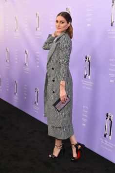 Influencer Olivia Palermo attends 2018 Fragrance Foundation Awards at Alice Tully Hall at Lincoln Center on June 12 2018 in New York City