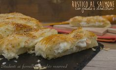 Rustico al salmone patate e stracchino http://blog.giallozafferano.it/studentiaifornelli/rustico-al-salmone-patate-e-stracchino/
