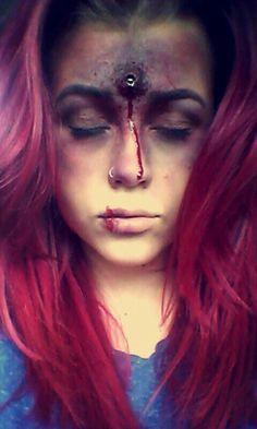 Halloween makeup creepy bunny rabbit face paint | Beauty:Extreme ...