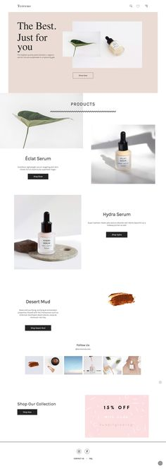 Skincare Consultant once Natural Skincare Brands Korea. Organic Skin Care Tips K… - Modern Web Design Trends, Design Web, Blog Design, Layout Design, Web Layout, Banner Design, Website Layout, Cosmetic Web, Beauty Web