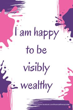 Daily wealth affirmations