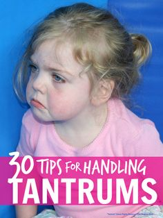 Parenting advice ... simple tips for handling kids tantrums                                                                                                                                                                                 More