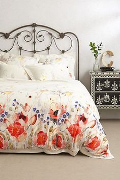 17 Ideas para decorar con antiguas camas de forja /17 ideas decorating for iron bed | Bohemian and Chic
