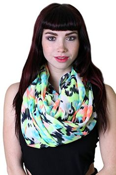 Women's Birds and Butterfly Infinity Circle Loop Scarf // #ANIKADALI Anika Dali Women's Charming & Modern Scarves and Wraps. Evening Shawls. Unique Gift Ideas. Travel Scarf. Wanderlust.