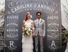 ideas photocall boda