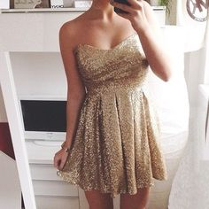 sparkle dress for winter formal?