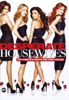Teri Hatcher, Felicity Huffman, Eva Longoria, Marcia Cross: Desperate Housewives - Season 8 - The Final Season DVD Boxed Set #gifts #holidays #christmas