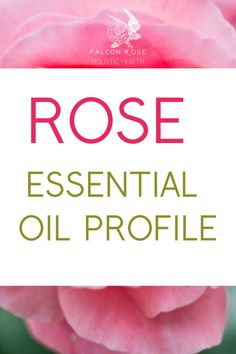 Learn about the physical, emotional and energetic properties of Rose! Essential oils for beginners and beyond. Rose Essential Oil, Natural Health, Aromatherapy, Physics, Essentials, Learning, Studying, Teaching, Physique