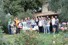 I Viaggiatori del Gusto,presso la Tenuta di MonteRosola. In tantissimi a Volterra. #baccoreunionvolterra