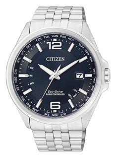 Citizen Herren-Armbanduhr XL Funkuhren Analog Quarz Edelstahl CB0010-88L - http://uhr.haus/citizen/citizen-herren-armbanduhr-xl-funkuhren-analog-2