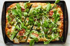 Asparagus, Goat Cheese and Tarragon Tart Recipe - NYT Cooking Arugula Recipes, Asparagus Recipe, Asparagus Ideas, Salmon Fried Rice, Eggs And Kale, Soba Salad, Store Bought Pizza Dough, Spring Recipes, Pizza