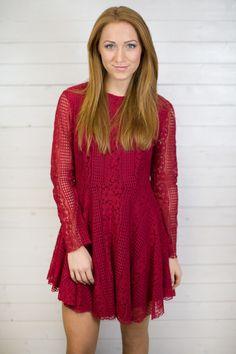 Mandy Lace L/S Dress