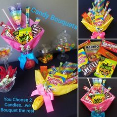 ✔ Christmas candy bouquet fun snow time snow all white everything✔ Christmas Candy Bouquet fun snowtime snow all Creative gift ideas for sweetsOMG this candy wreath and candy gift bouquet ideas will Candy Bouquet Diy, Diy Bouquet, Flower Bouquets, Money Bouquet, Gift Card Bouquet, Lollipop Bouquet, Food Bouquet, Candy Wreath, Candy Party Favors