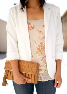 Putting Me Together. I've never considered a blouse like this. I like the soft look of this.