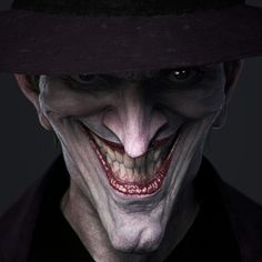 This is an awesome drawing of The Joker! #comicsandcoffee By Duc Nyugen