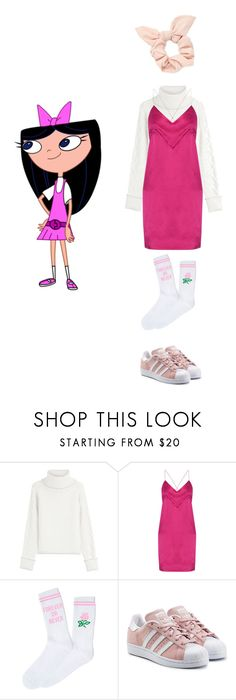 """""""Isabella (contest entry)"""" by odscene ❤ liked on Polyvore featuring Karl Lagerfeld, Michael Lo Sordo, Yeah Bunny, adidas Originals and Forever 21"""