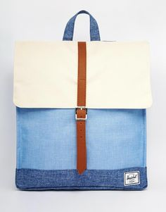 Great colours - Herschel Supply Co City Backpack in Chambray Colour Block