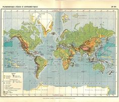 1910s World Map