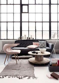 Interior Design….love the combo choice of design….