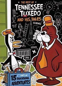 Classic TV cartoon Tennessee Tuxedo on DVD Cartoon Tv, Vintage Cartoon, Cartoon Shows, Vintage Comics, Cartoon Characters, Childhood Characters, Vintage Toys, Old School Cartoons, Old Cartoons