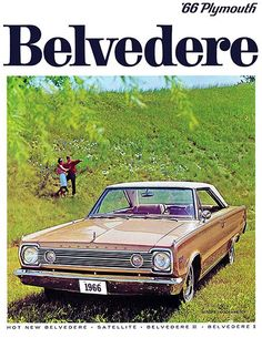 1966 Plymouth Belvedere #2 - Promotional Advertising Poster