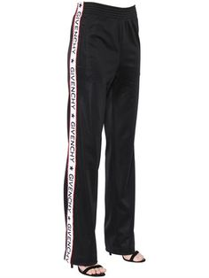 GIVENCHY Neoprene Jersey Jogging Pants W  Logo, Black.  givenchy  cloth   pants ebb606d8b0c4
