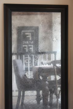 turn plain glass into antique mirror. My Sweet Savannah: ~thrifty thursday~