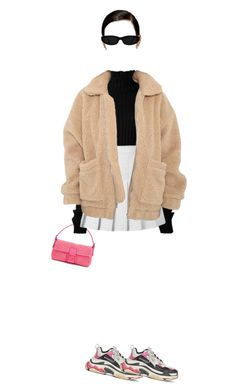 """Seen hanging out with ex Diplo"" by nytown ❤ liked on Polyvore featuring Balenciaga and Fendi"