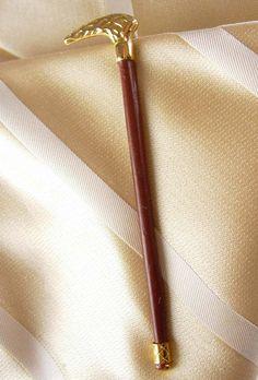 Antique Victorian STAFF SCEPTER Tie Clip by NeatstuffAntiques, $165.00