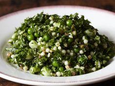 Potato and green bean salad with arugula pesto / Blue Kitchen http ...