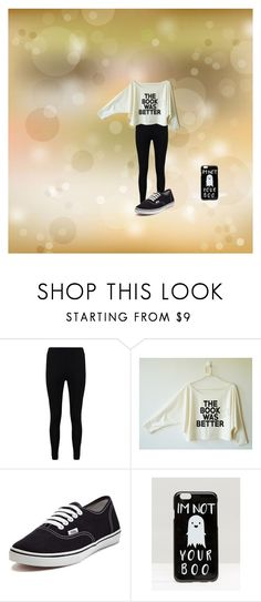 """Me on a daily basis"" by skittlelover1 on Polyvore featuring Boohoo, Vans and ASOS"