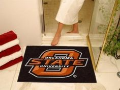 Oklahoma State OSU Cowboys All-Star Welcome/Bath Mat Rug 34X45