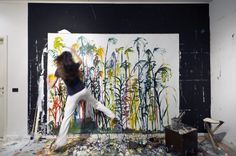 Brigitta Rossetti/ artist at work
