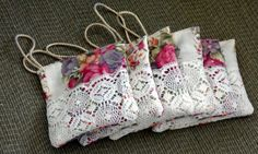 ENGLISH LAVENDER SACHETS / Grown in Canada by BAGLADYFROMTHEBAY