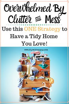 How To Get Motivated To Clean When Overwhelmed By The Mess. This ONE strategy turned my messy house into an always guest-ready home I love! Spring Cleaning List, House Cleaning Tips, Cleaning Hacks, Cleaning Products, How To Get Motivated, Messy House, Cleaning Painted Walls, Clean Dishwasher, Toilet Cleaning