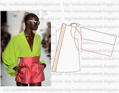 Moldes Moda por Medida: Bluse