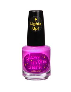 Purple Light Up Glow In The Dark Nail Polish | Nail Polish & Kits | Beauty | Shop Justice