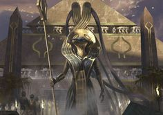 Bontu the Glorified (Invocations) - Amonkhet MtG Art
