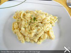 Cremige Käsespätzle